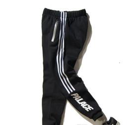 Wholesale High Waist Loose Pants - Pants PAlace Skateboards Sport Pants men Hip Hop High Quality Fashion Triangle Palacio Autumn Sweatpants