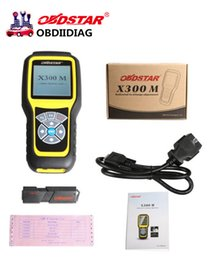 Wholesale Toyota Car Mileage Correction Tool - OBDSTAR X300M OBDII Odometer Correction X300 M Mileage Adjustment Tool (All Cars Can Be Adjusted Via Obd) Update By TF Card