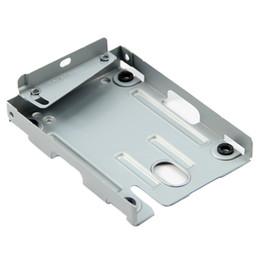 hard disk bracket 2018 - Wholesale- GTFS-Slim Metal Caddy PS3 CECH-400X Series for Hard Disk Drive HDD Mounting Bracket