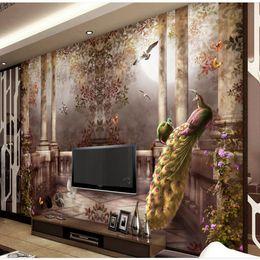 rabatt pfau wandmalereien | 2017 pfau wandmalereien1 im angebot, Wohnzimmer