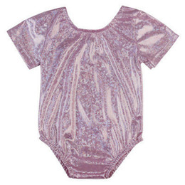 Wholesale Sleeve Swimsuit Baby - New Kids Toddler Baby Girls Pink Short Sleeve Bikini Set 2017 One Piece Swimsuit Swimwear Bathing Suit Swimming Clothes Summer