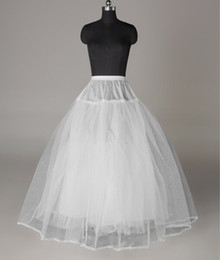 2017 Brand New White sottoveste Ball Gown Abito da sposa Sposa Sottogonna Abito formale Crinolina Vendita calda Accessori da sposa da