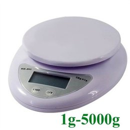 Wholesale Miniature Plastic Food - Household miniature electronic baking tools Kitchen food scale said JiLiangCheng jewelry small platform scale 5 kg