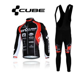 Wholesale Cube Jersey Bib - CUBE cycling jersey sport suit mountain bike ropa ciclismo bicycle MTB bicicleta clothing 3D gel pad BIB bike clothing
