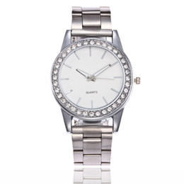 Wholesale Michael Watch Women - smart woman fashion casual michael cheap plastic The new alloy steel watch with a full number of gold watches