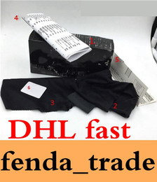 Wholesale Cloth Cases - DHL fast HOLBROOK Sunglasses original packaging Black paper box sunglasses case box bag cloth Fast And Free Ship suit for brand MOQ=50 sets