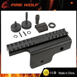 Wholesale Support Hunting - FIRE WOLF New Tactical Gen 4-Point Locking Rail System Hunting Side M14 Scope Mount Sight Support