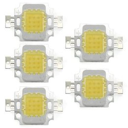Wholesale Lampe High Power Led - Wholesale- GSFY-5 x High Power 10W LED Chip Birne Licht Lampe DIY Weiss 750LM 6500K