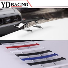 Wholesale Universal Car Spoiler - Universal Styling Auto Racing Car Spoiler Trunk Lip Wing Fit Any Sedan Cars ( For BMW Audi Benz VW )