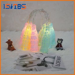 Wholesale Novelty Bottles Cups - Fashion Holiday Lighting 10 LED Novelty Beer Bottle String Lights Wedding Garden Party Valentine's Day Decoration