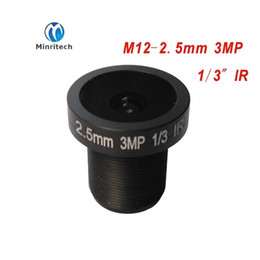 Wholesale M12 Board Lenses - cctv lens panoramic camera 2.5MM 3MP ultra wide angle lens M12 monitoring interface fixed board lens