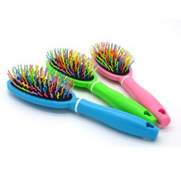Wholesale Brush Hairdresser - Hair Comb Hairdressers Salon Styling Brushes Roll Hair Modelling Barbers Comb Set Kit Hairbrush Styling Tools