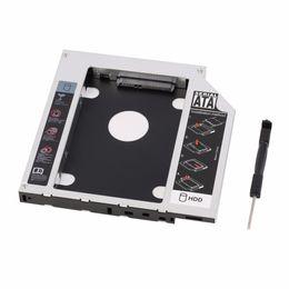 Toptan-Yeni Sabit Disk Caddy Seri ATA Sabit Disk Disk HDD SSD Adaptörü Caddy Tepsi PC Dizüstü Bilgisayar için nereden