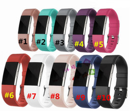 Wholesale Smart Watches Sale - fitbit charge 2 smart straps wearables silicone smart watch straps fitness replacement accessories wrist band for fitbit charge 2 hot sale