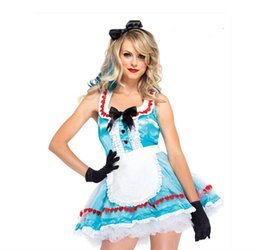 Wholesale Magician Costume Women - Polyester Fiber Game Suits The Maid Fashion Europe And The United States The Magician Stage Is Installed