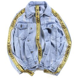 Wholesale Denims Jacket Men - New arrival Denim Jacket Men Fashion brand clothing Jeans Jackets Male Spring Autumn Casual Clothing