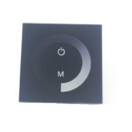 Rosh geführtes streifen online-Schwarzer LED-Controller für 12V 24V LED flexibles Streifen-Licht 5050 3528 5630 2835 einfarbiges Seil-Spulen-Noten-Panel-Helligkeits-Dimmer CE ROSH