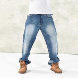 Argentina Al por mayor-2014 nuevos pantalones vaqueros simples y cómodos más tamaño, holgados pantalones vaqueros marea hermano marea tamaño 30-46 supplier size 46 trousers Suministro