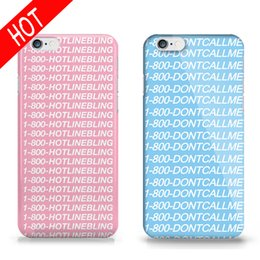 Wholesale Drake Cover - Fashion Rap Singer Drake Phone Case For hulls iphone SE 5S 6s Plus HOTLINE BLING Hard Pink Cover DIY PC Phone Accessories Sleeve