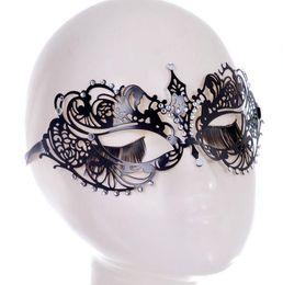 Wholesale Iron Jewelry For Women - The new creative lady NC iron mask, American jewelry,5718 Half Mask For Women Mask,Fashion retro nightclub dance Women Mask,theme party mask