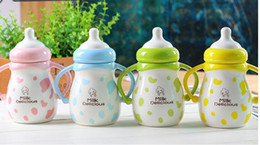 Wholesale Ceramic Baby Spoons - milk mug baby cute large tea mugs ceramics coffee mug japanese