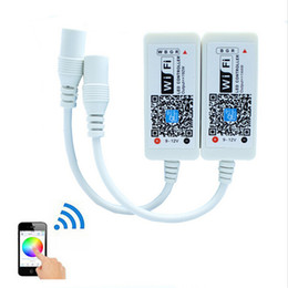Wholesale Rgb 12v - Magic Home Mini RGB RGBW Wifi Controller For Led Strip Panel light Timing Function 16million colors Smartphone Control