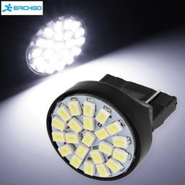 Wholesale 3156 Led Turn Signal - DC12V 6000K White Light 3156-T25 22SMD LED Car Lamp Auto Stop Tail Light Brake Lamp Parking Lights Turn Signal Lights