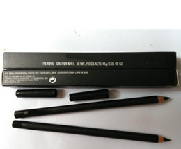 REGALO GRATUITO! NEW Eyeliner Pencil Eye Kohl Black 'With Box (10PCS / LOT) da bacio trucco all'ingrosso fornitori