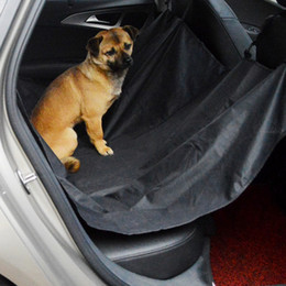 Wholesale Dog Back Seat Hammock - NEW Pet Car SUV Van Back Rear Bench Seat Cover Waterproof Hammock for Dog Cat DHL