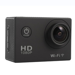 Wholesale Mini Dv Hd Dvr - SJ4000 Wifi Mini Camera 1080P Full HD Action Camera Sport DV Helmet Camcorder Car DVR 30M Waterproof Cam