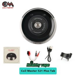 Wholesale Resistance Voltage - Original Coil Master 521 Plus Tab for test the battery output and voltage checking each coils resistance value