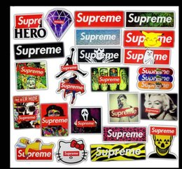 Wholesale Hero Bikes - Super Hero Cartoon Sticker for Laptop Luggage Bags Bike Phone Car Styling Cool Stickers Toys Doodle PVC Creative Decals