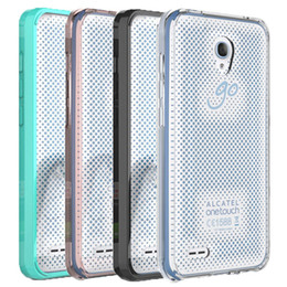 Wholesale Cover For Alcatel - For Alcatel 7048 Case Clear Hybrid Bumper Shockproof Back Cover Phone Accessories For Alcatel Pop 4 \7048 \idol 4