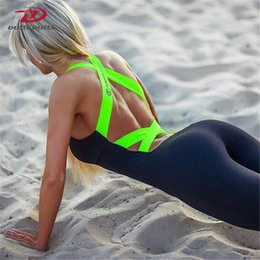 Wholesale Yoga Sports Suits - Hot sale Europe and America Autumn Winter Gym Fitness Clothing Suit Women Running Tight Jumpsuits Sports Yoga Sets Promotion