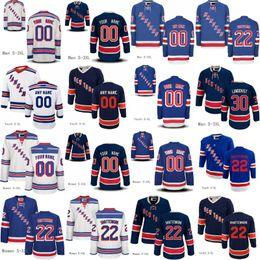 Wholesale Number 22 - New york Rangers Jerseys 22 Kevin Shattenkirk 30 Henrik Lundqvist Custom Any Name Any Number Mens Women Youth Hockey Jerseys
