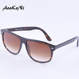 Wholesale Glasses For Boys - AOOKONI AK4147 hot new classic retro plate frame personality fashion anti UV Sunglasses Fashion Trends for men and women sunglasses 60MM