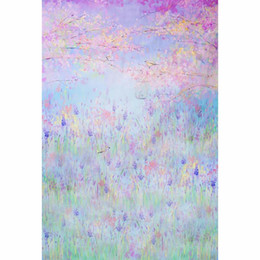 Wholesale Flower Watercolor Paintings - Digital Painting Watercolor Backdrop Vinyl Spring Flowers Cute Newborn Baby Shower Backdrops Wallpaper Kids Birthday Party Backgrounds