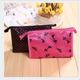 Wholesale Cosmetic Case Low Price - MB-39 low price Satin material Travel Cosmetic Bag Makeup Pouch makeup bags cases free shipping DHL !