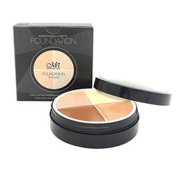 Wholesale Hid Kit Full - Wholesale-4Color Concealer Cream Waterproof Face Primer Contour Palette Kit Facial Contouring Makeup Cover Palette Hide Blemish Foundation