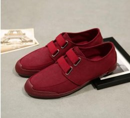 Wholesale Cloth Board - 2017 spring and autumn new men's low-heeled canvas shoes Korean breathable casual flat board shoes youth pedal lazy cloth shoes
