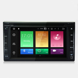 """Wholesale Tv Dvd Double Din Gps - 6.2"""" 2G RAM Octa-core Android 6.0.1 System Double Din Car DVD Player GPS Navi Stereo RDS WIFI 4G BT4.0 4K Video Radio OBD 173*98mm Panel"""