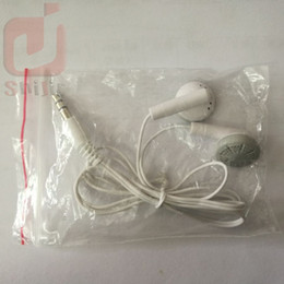 Wholesale Tablets For Cheap Wholesale - Company Gift Mini Portable In-ear Earphone MP3 Player Earphone Cheap for Music Player Tablet Mobile Phone With OPP Bag 500ps lot
