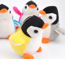 Wholesale Purple Wedding Stuff - 2017 high quality. Super express 9 cm 3.5 'Penguin Plush Toy, keychain pendant Plush Stuffed Toy DOLL, Wedding Gift Plush DOLL Toy
