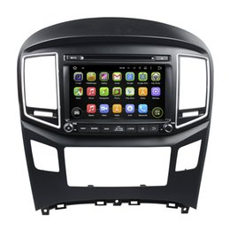 Wholesale Dvd Hyundai H1 - Fit for hyundai h1,grand starex,h-1 travel,h-1 cargo,iload 2016- Android 5.1.1 1024*600 HD car dvd player gps radio 3G wifi bluetooth dvr