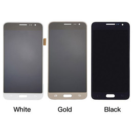 Wholesale Display Touch S3 - For Samsung Galaxy J3 J320 F P M Y LCD Display Touch Screen Digitizer Assembly Free shipping