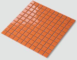 Wholesale Orange Wall Arts - Glossy Light-orange black colors optional ceramic tiles,Kitchen backsplash tiles,Bathroom wall,home wall art tiles,free shipping,LSTC2310 11