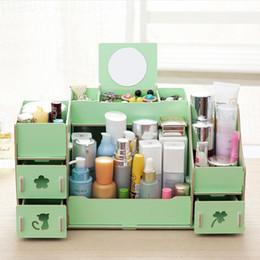 Wholesale Desktop Diy Storage Boxes Organizers - The new wooden desktop storage box, said DIY desktop storage box