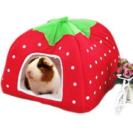 Wholesale Cage House - Cute Small Animal Rabbit Guinea Pig Hamster house winter warm squirrel hedgehog chinchilla House cage Nest Hamster accessories