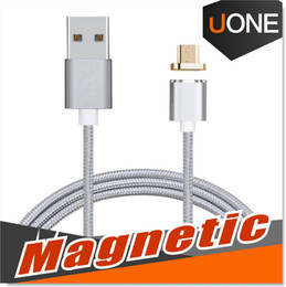Wholesale Magnetic Charger Blackberry - Magnetic Charger Adapter Micro USB Cable Durable Charging Sync Connector Data Cable For Android device 3.2 Feet 1 Meter extreme charging