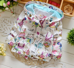 Wholesale New Dress Hooded Coat - New Fall Winter Hooded Coat Sweater Cartoon Outfit Dress Autumn clothing clothes kids Children baby 1-5 years Jacket Sweatshirt